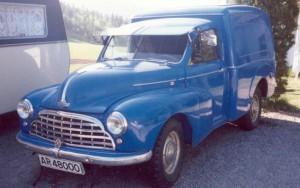 1953 Morris Cowley Van